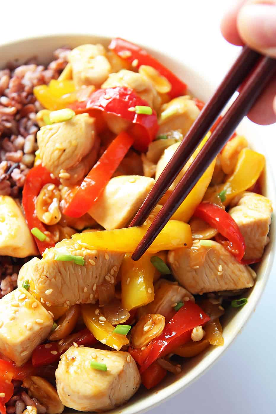 Quick and Easy Kung Pao Chicken