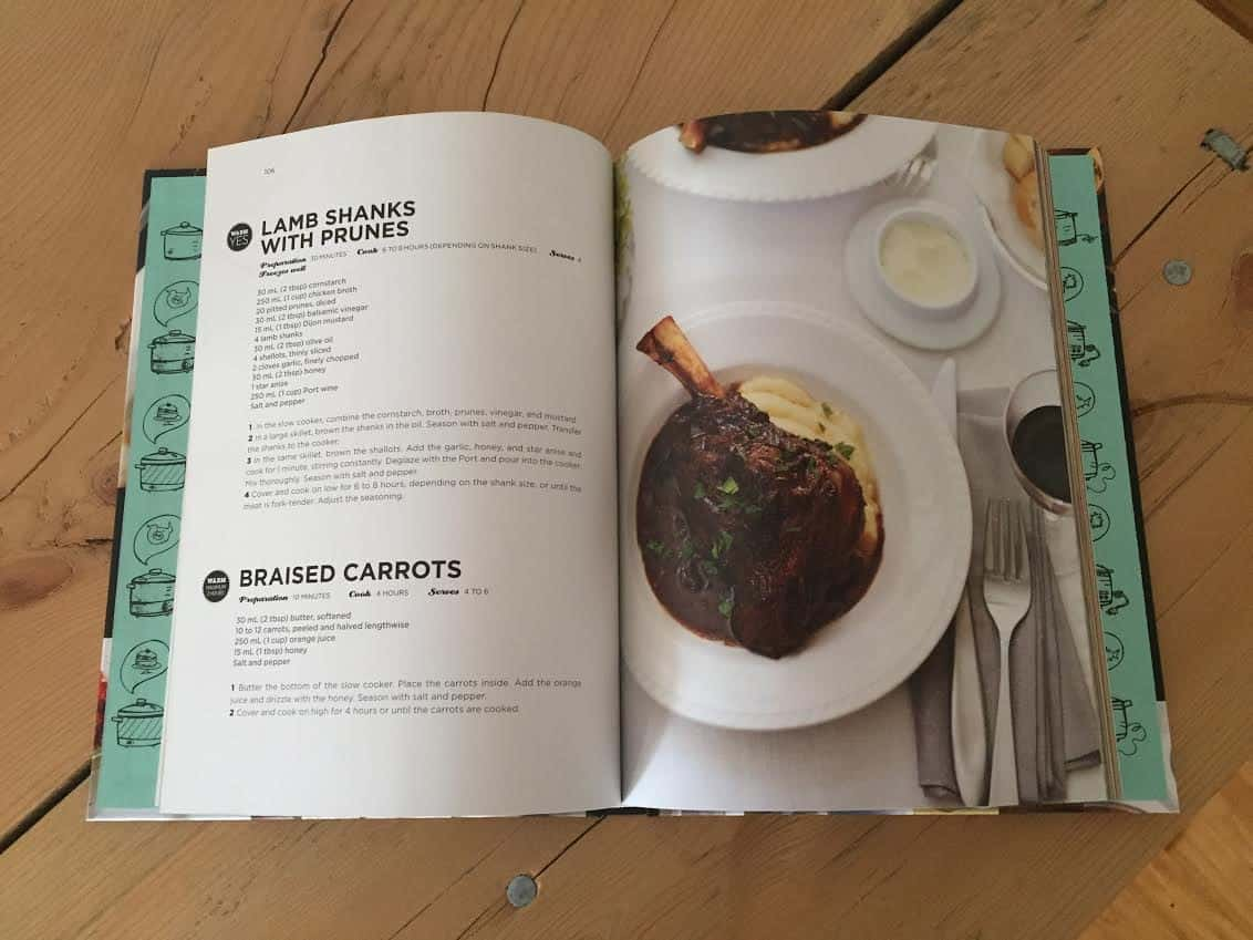 Recipe Images in Ricardo's Cookbook