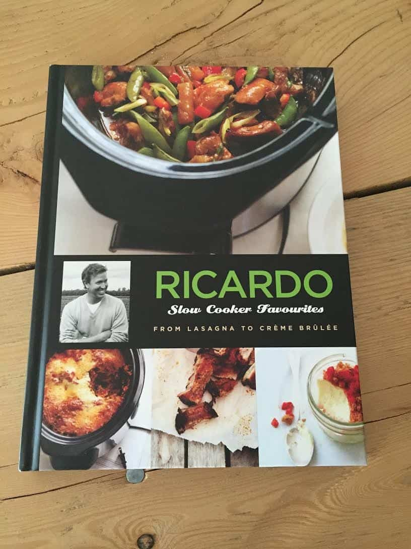 Ricardo Slow Cooker Favorite Cookbook