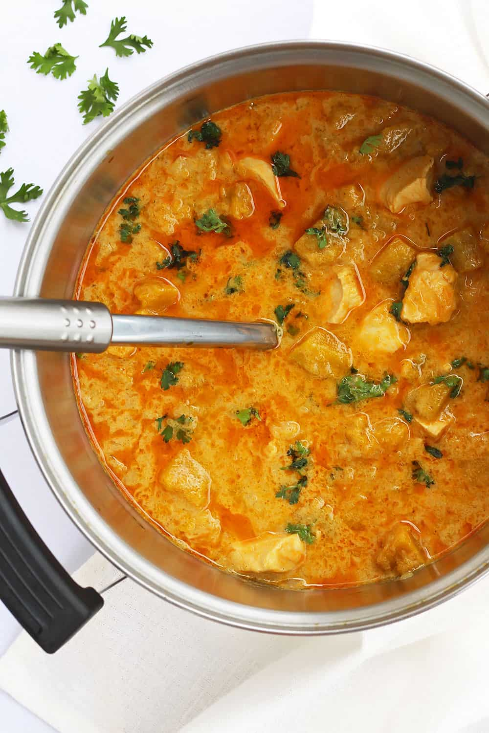 Thai Yellow Curry Chicken and Squash Recipe » LeelaLicious