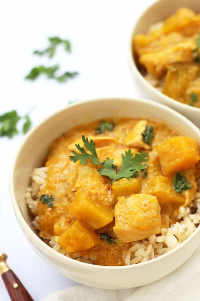 Thai Yellow Coconut Chicken Curry