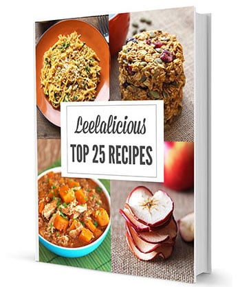 Leelalicious Top 25 Recipes eBook
