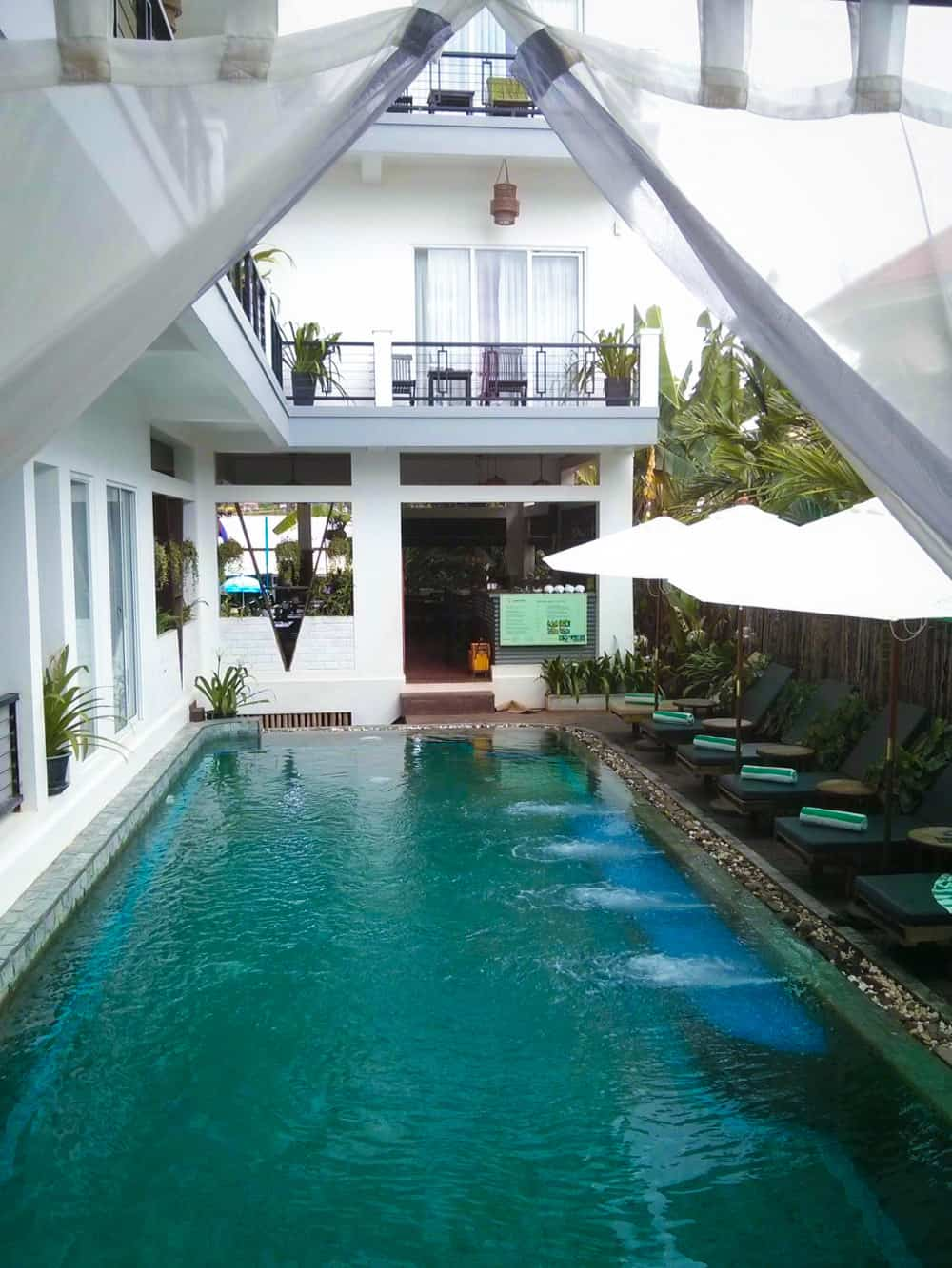 Salt Water Pool in Cambodia