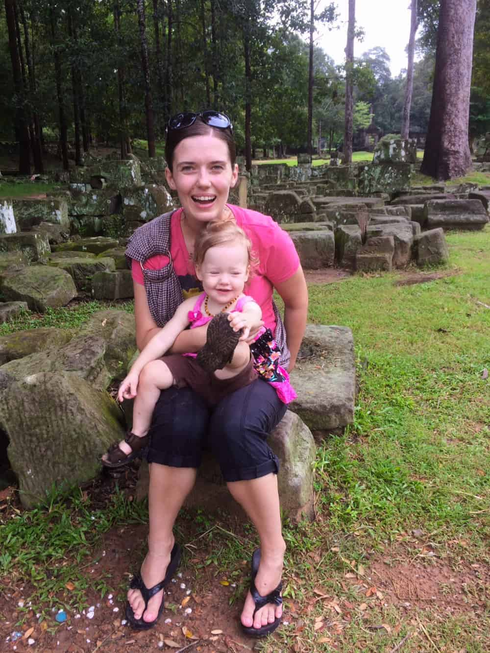 Travelling in Cambodia with Olivia