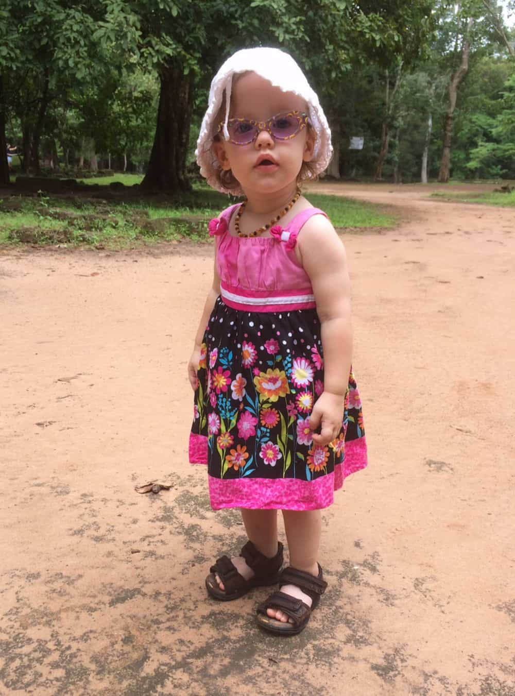 Olivia in Cambodia