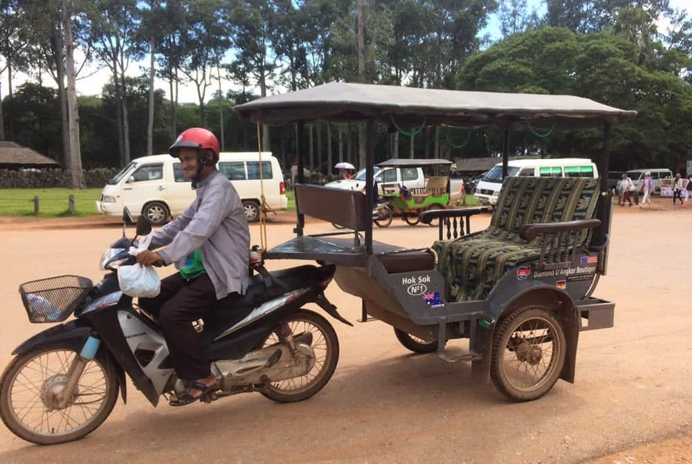 Cambodia Family Travel - Remork
