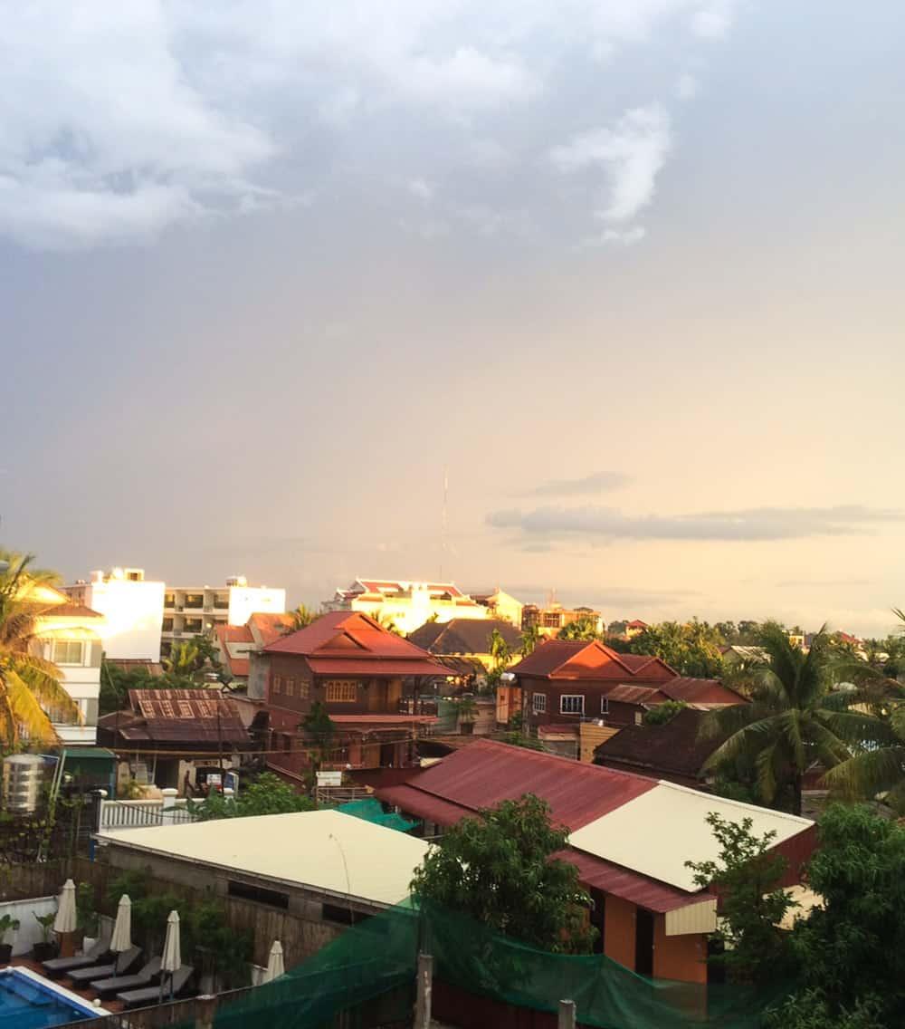 Scene from Hotel in Cambodia