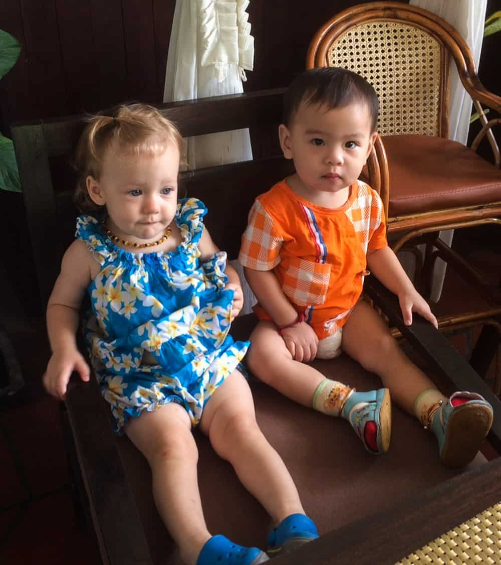 Travelling with Toddlers in Cambodia