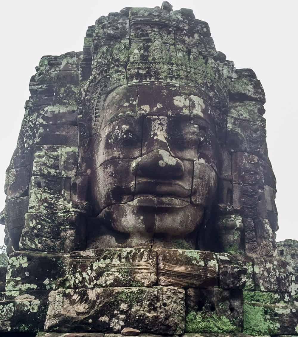 Cambodian Statue