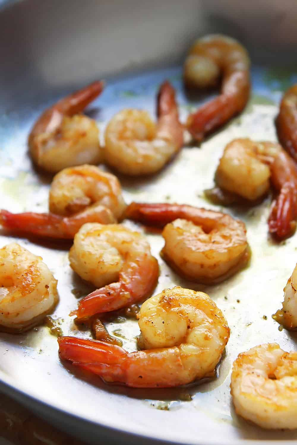 Cooking the Curried Shrimp