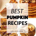 Pumpkin Recipe Collage