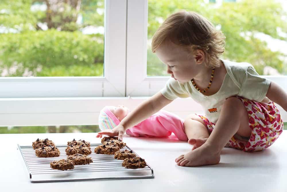 Olivia Eating Cookies