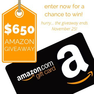$650 Amazon Giveaway