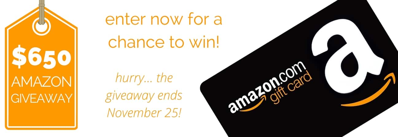 $650 Amazon Giveaway