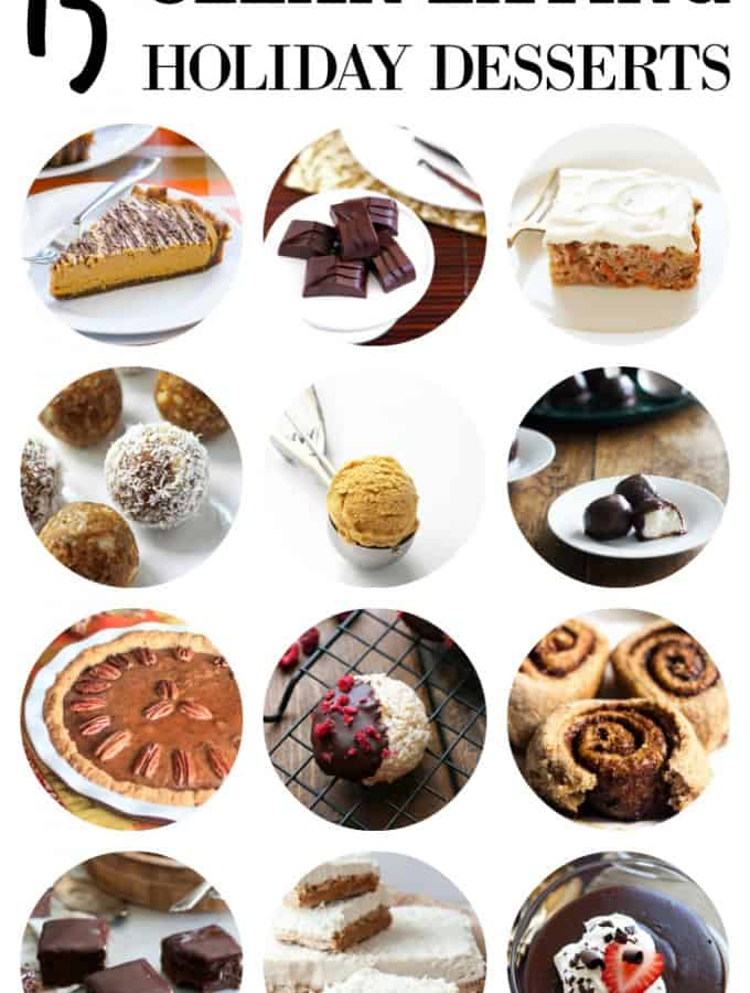 Clean Eating Holiday Desserts