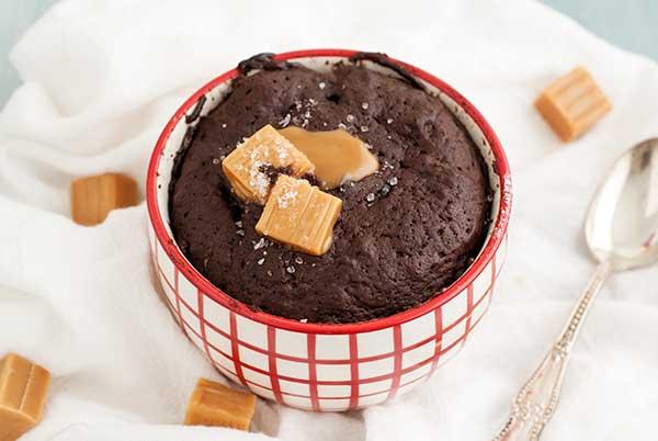 Gluten-Free-Salted-Caramel-Mug-Cake