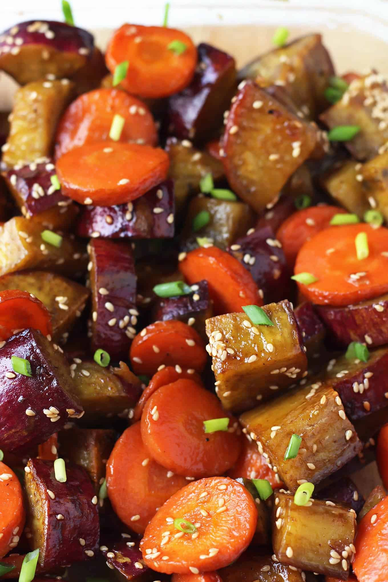 Honey Glazed Vegetables