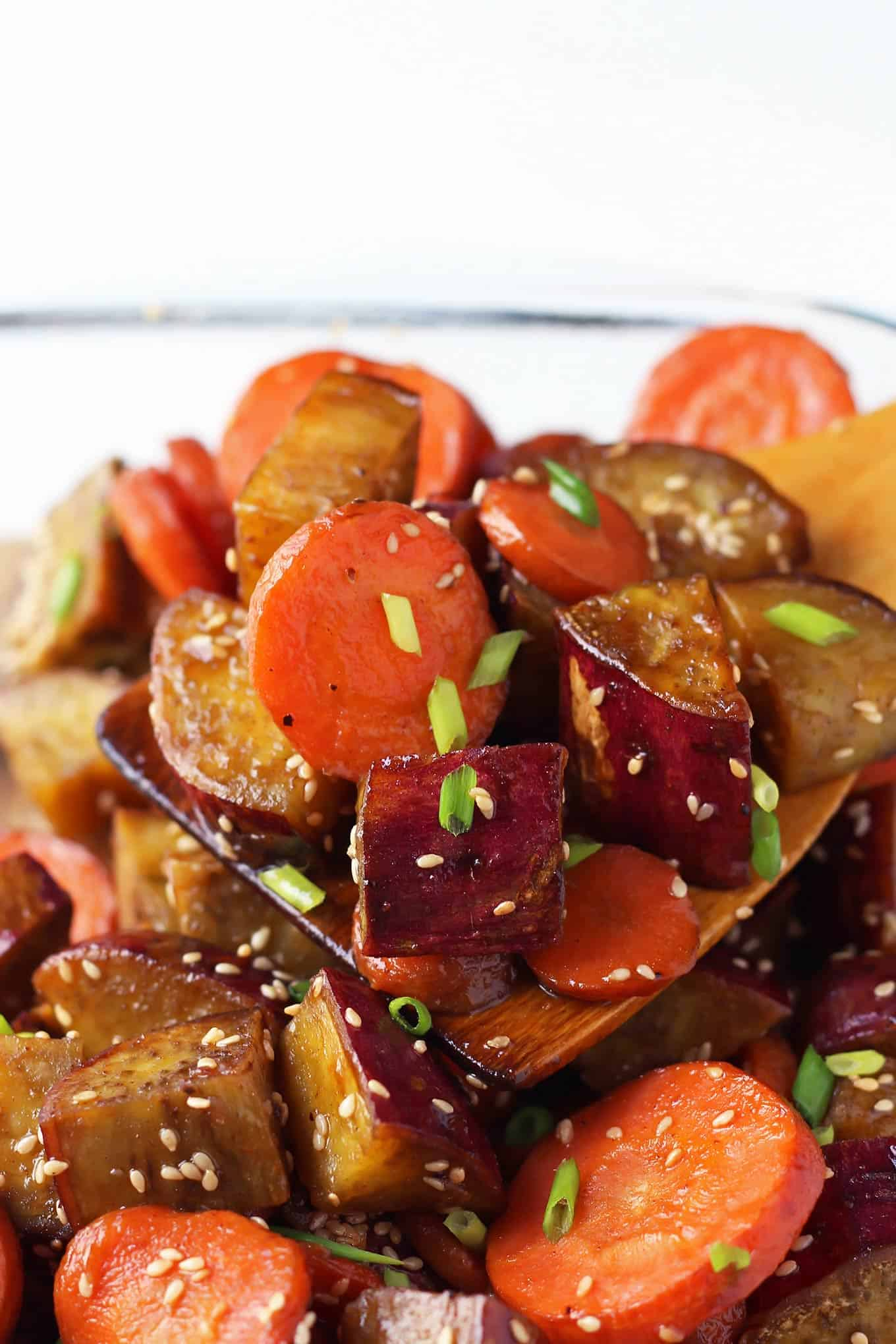 Baking Dish of Roasted Vegetables