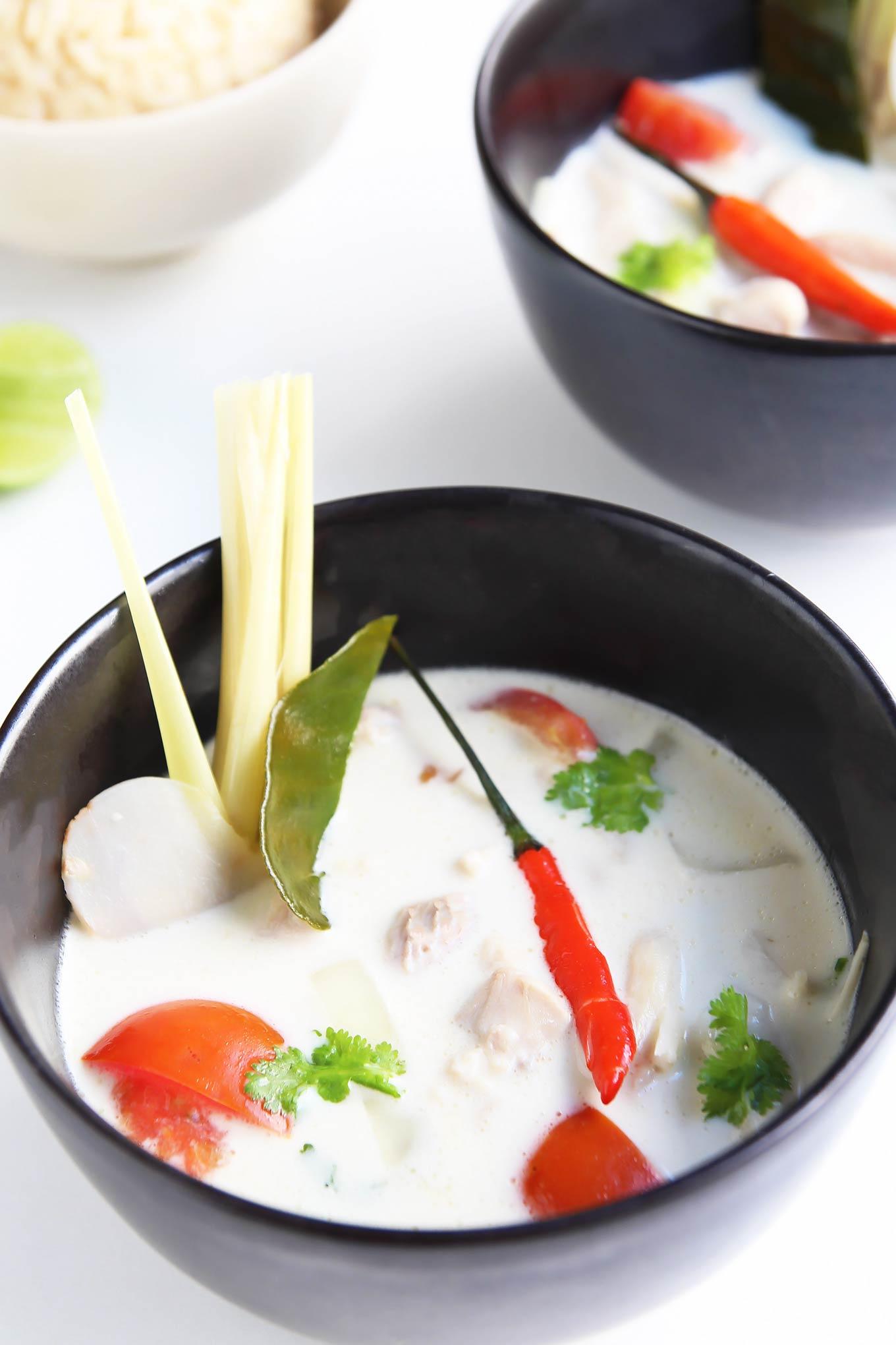 Bowl of Tom Kha Gai