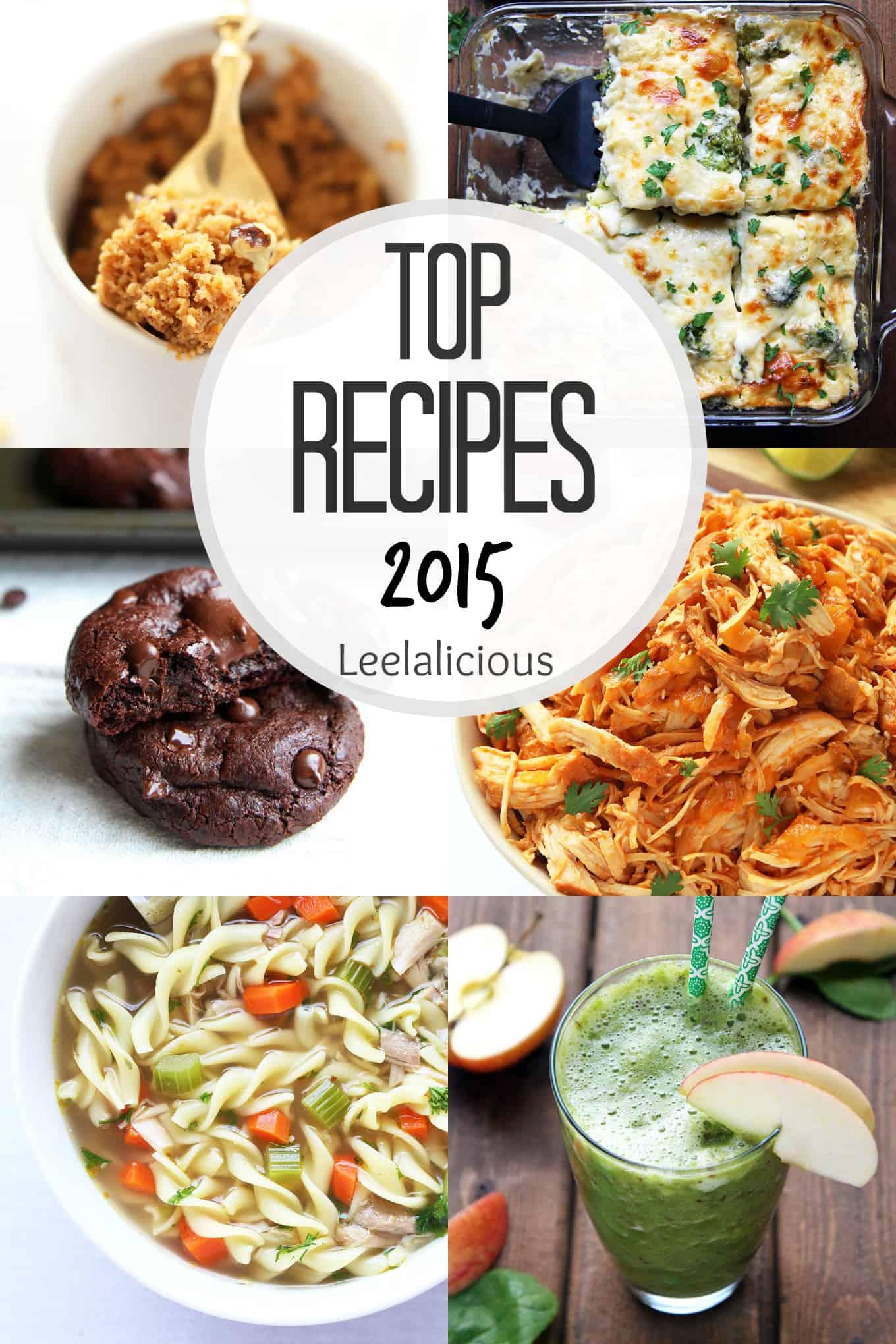 2015 Top Recipes on Leelalicious