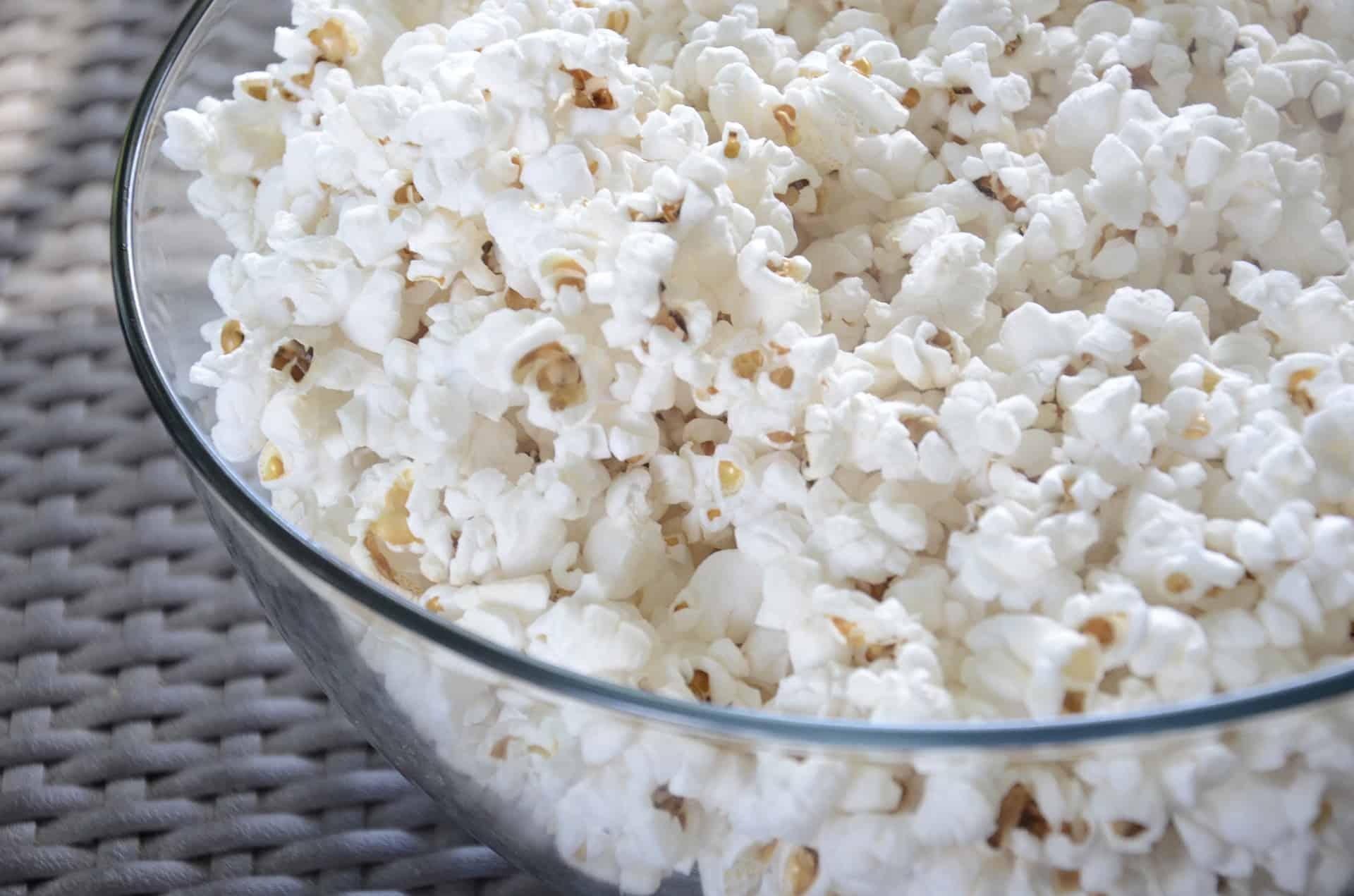 Best Air Popped Popcorn