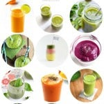 12 Healthy Smoothie Recipes with Leafy Greens or Vegetables