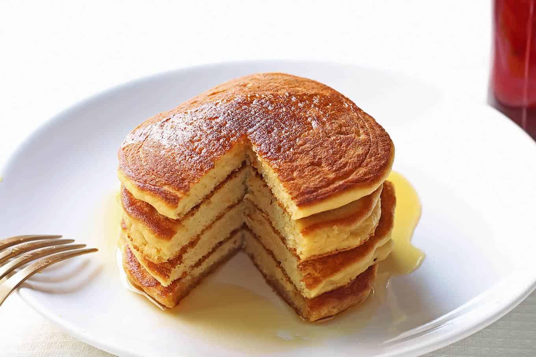 Fluffy coconut flour pancakes video leelalicious ccuart Images