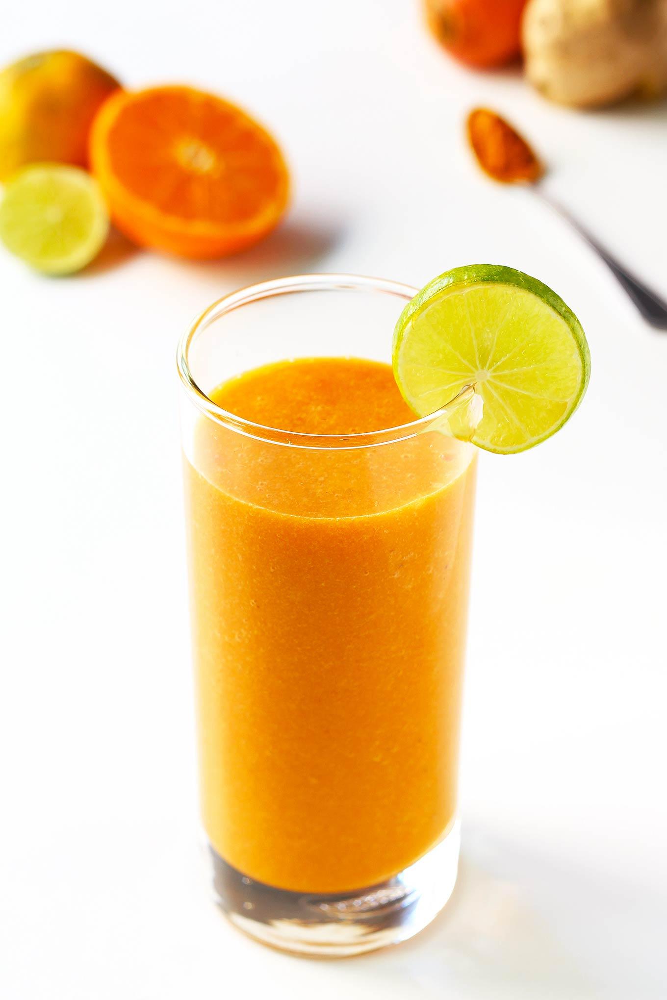 Citrus Carrot Turmeric Smoothie