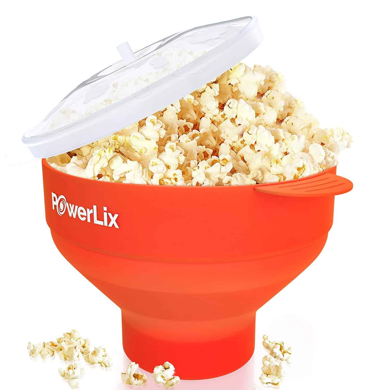 PowerLix Microwave Popcorn Popper