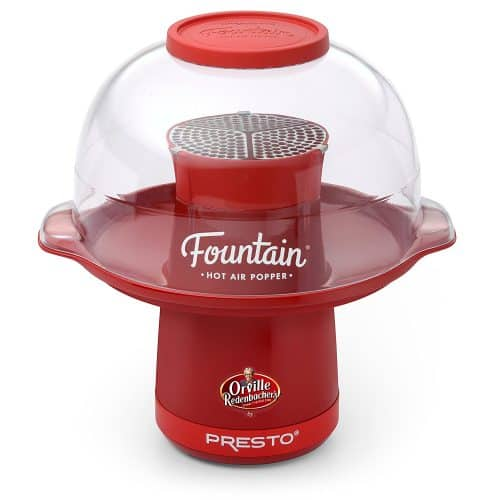 Presto Fountain Hot Air Popper machine