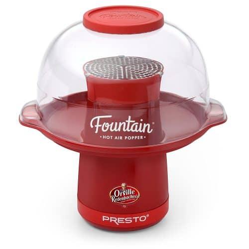 Presto Fountain Hot Air Popper machine