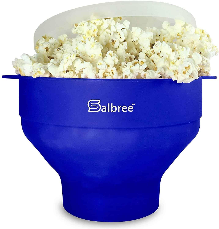 Salbree Silicone Popcorn Popper Review