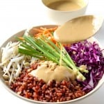 Thai Buddha Bowl with Peanut Sauce VIDEO