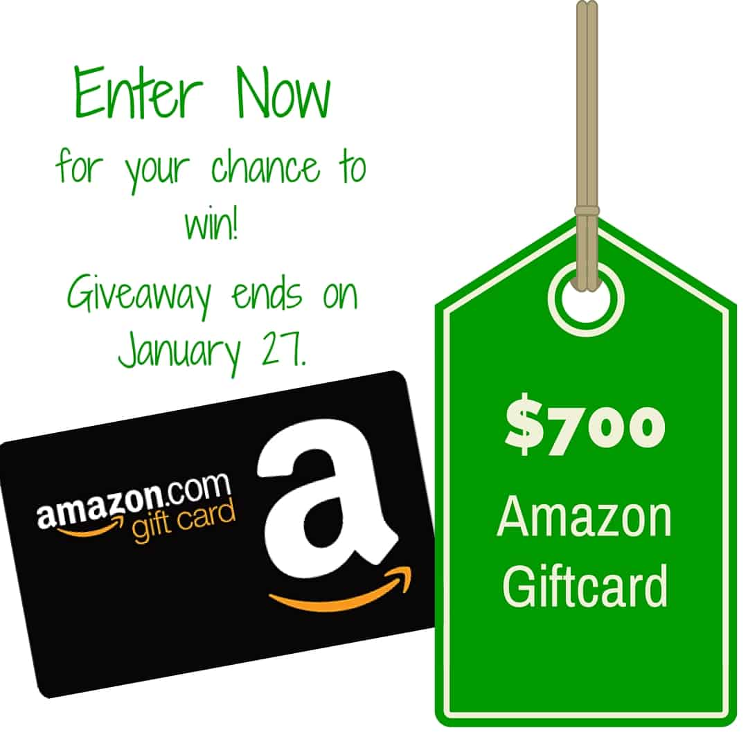 $700 Amazon Giftcard Giveaway