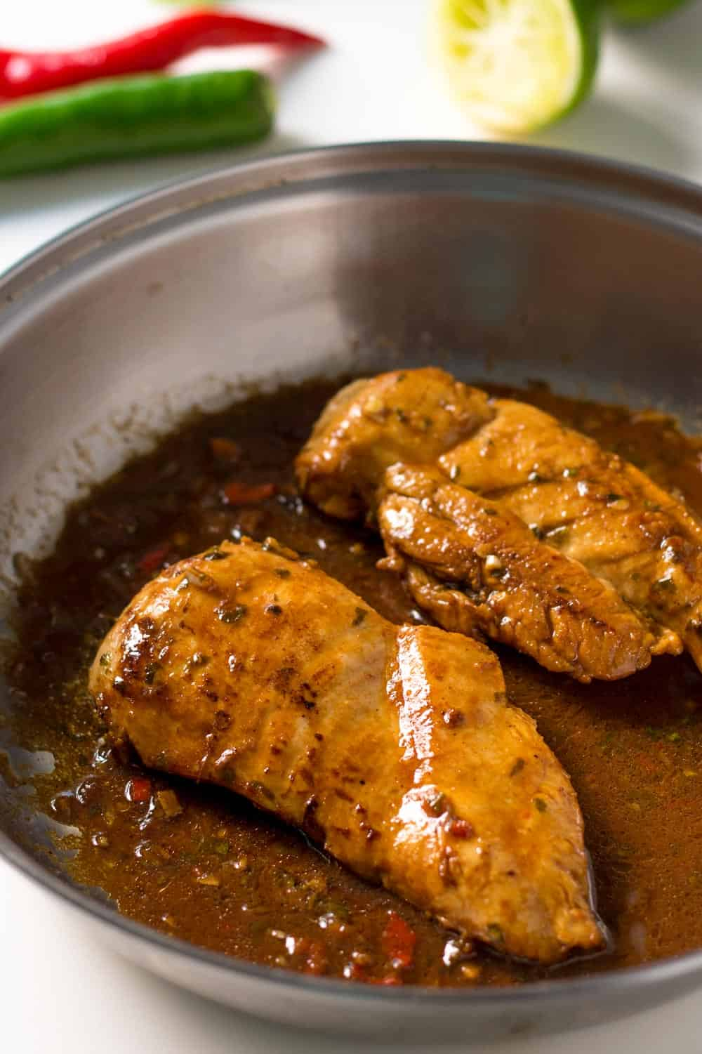 Marinated Chili Lime Chicken Breasts