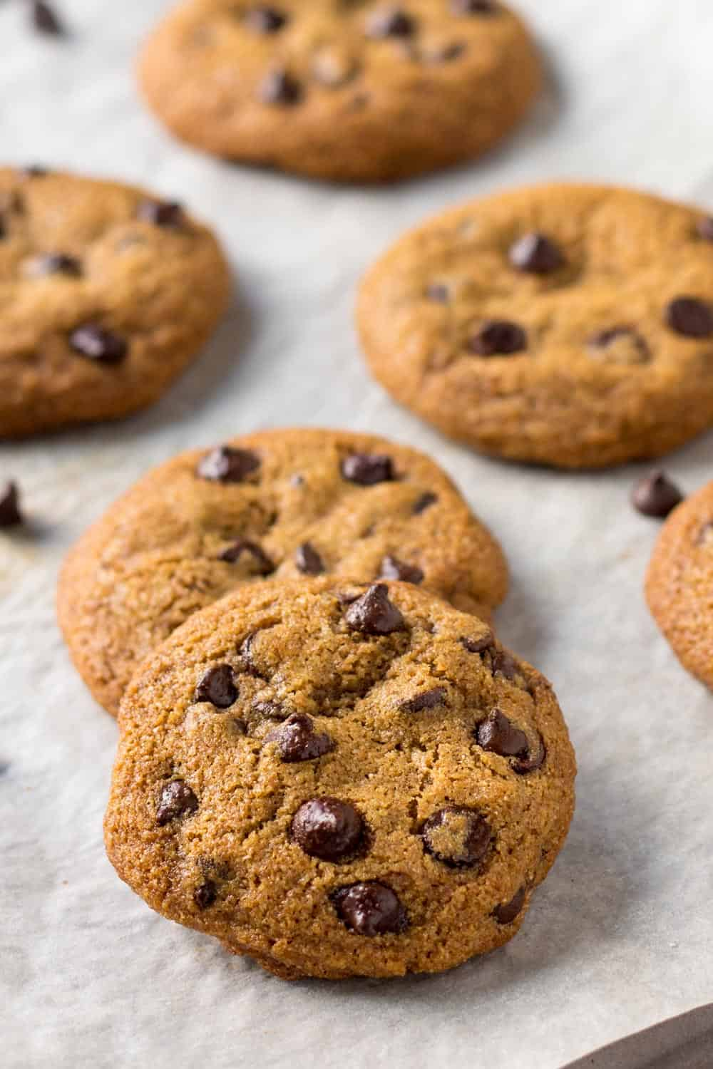 Chocolate Chip Cookies with Spelt