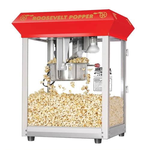 Great Northern Roosevelt Commercial Popcorn Machine