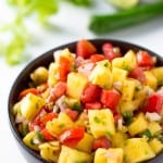 Tropical Pineapple Tomato Salsa