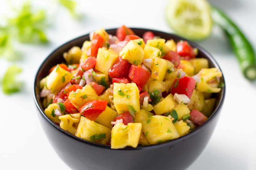 Pineapple Tomato Salsa Recipe – LeelaLicious