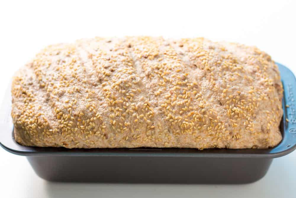 Loaf of Baked Spelt Bread