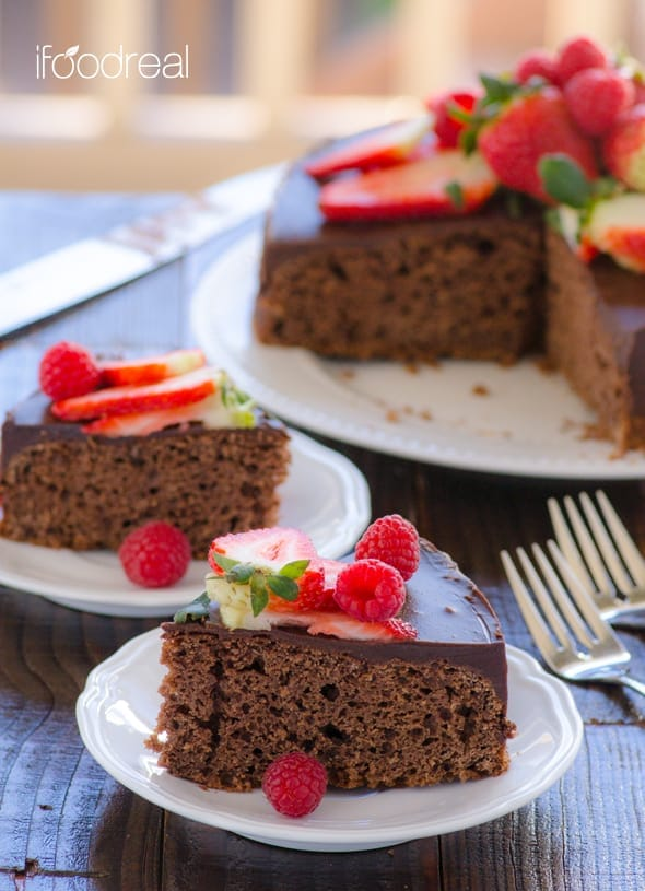 Whole Wheat Chocolate Cake