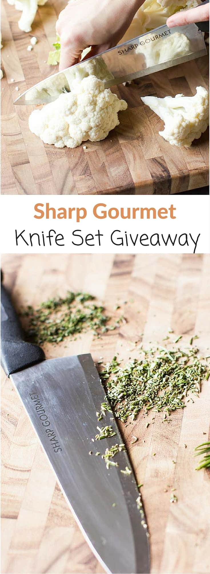 Win a subscription for an always sharp knife set in this Sharp Gourmet giveaway.