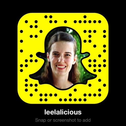 Leelalicious Snapcode