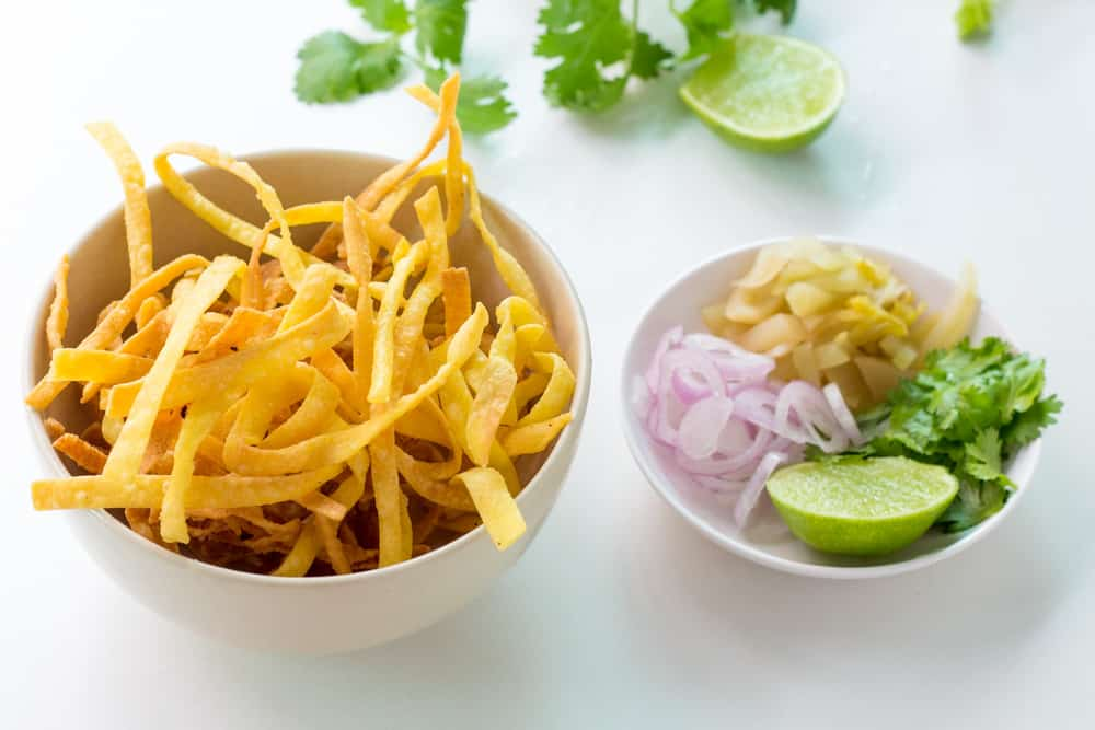 Khao Soi Garnishes