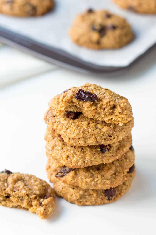 Oatmeal Raisin Cookie Stack