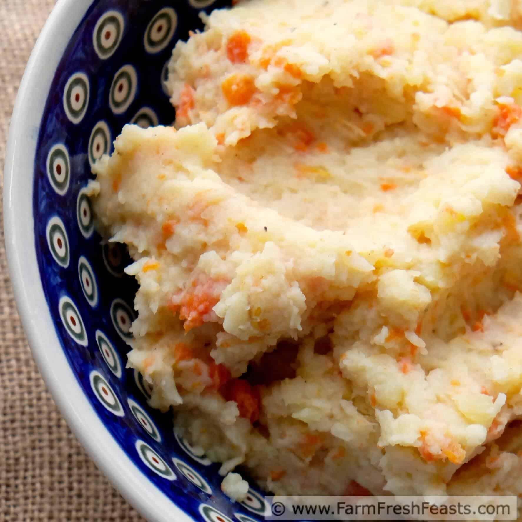 Carrot Celeriac Potato Mash
