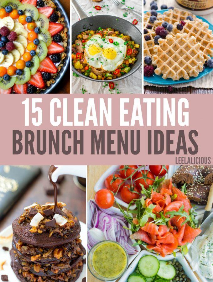 no cook brunch menu ideas