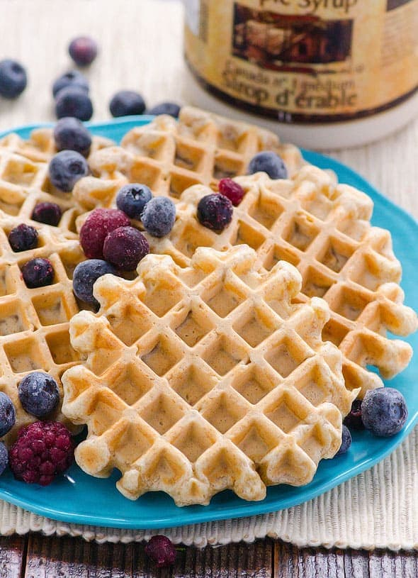 Clean Eating Waffles Recipe