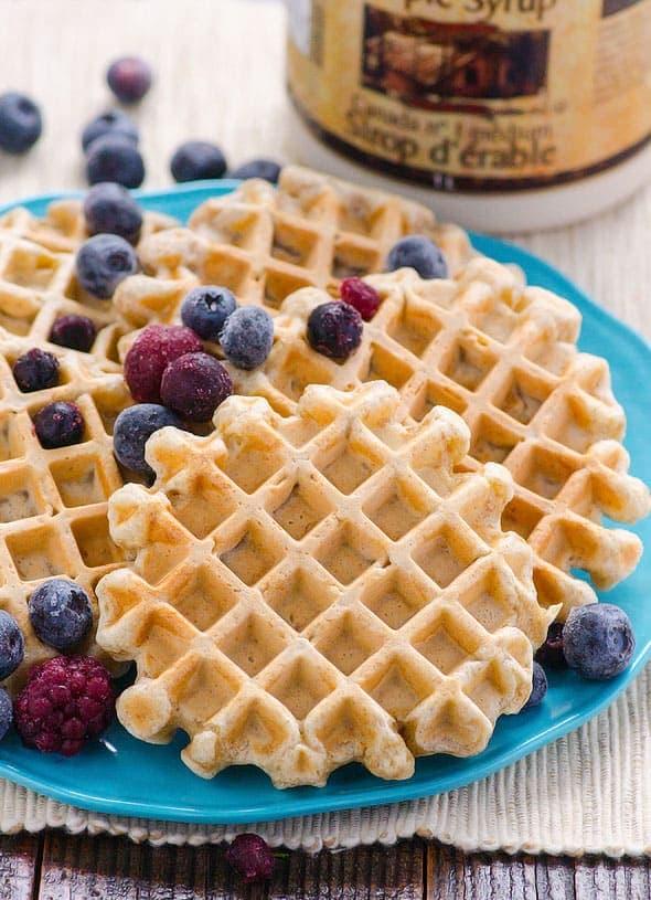 Clean Eating Waffles Recipe
