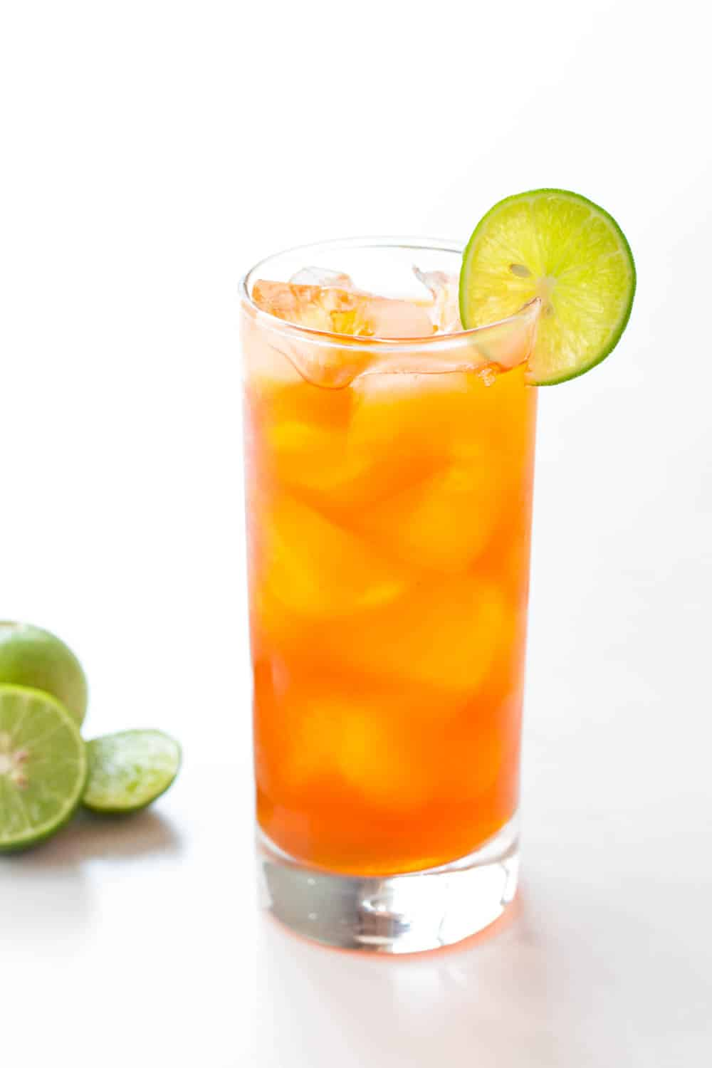 Honey Sweetened Thai Lemon Iced Tea • LeelaLicious
